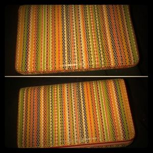 Boho Chic LODIS Multi-Colored RFID Wallet Case